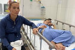 Vợ Thương Tín: 'Anh đòi ra viện vì không có tiền'