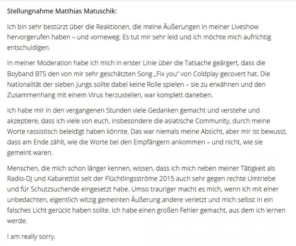 Host người Đức ê chề cúi đầu xin lỗi vội vì động tới BTS-6