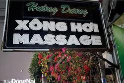 Bất chấp lệnh cấm trong dịch Covid-19, 5 nữ nhân viên massage vẫn bị bắt quả tang khỏa thân, kích dục cho khách