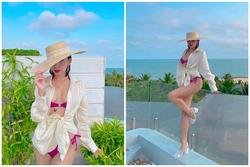Tóc Tiên diện bikini khoe body đẹp như tạc