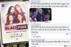 Thấy poster BLACKPINK tổ chức concert ở Việt Nam, netizen phản ứng: 'Qua hát trong khu cách ly hay gì'