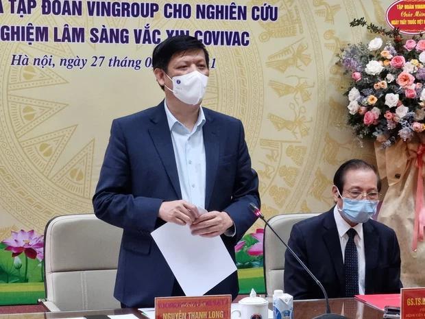 Bộ trưởng Bộ Y tế: Hiệu lực bảo vệ vaccine phòng Covid-19 made in Vietnam rất tốt-1