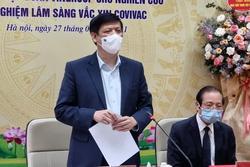 Bộ trưởng Bộ Y tế: Hiệu lực bảo vệ vaccine phòng Covid-19 'made in Vietnam' rất tốt
