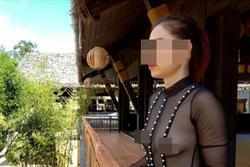 Người phụ nữ nghiện thả rông khoe ảnh hở hang, phát ngôn thách thức dư luận