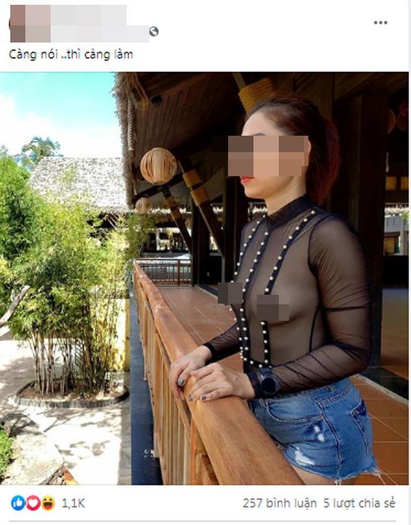 Người phụ nữ nghiện thả rông khoe ảnh hở hang, phát ngôn thách thức dư luận-4