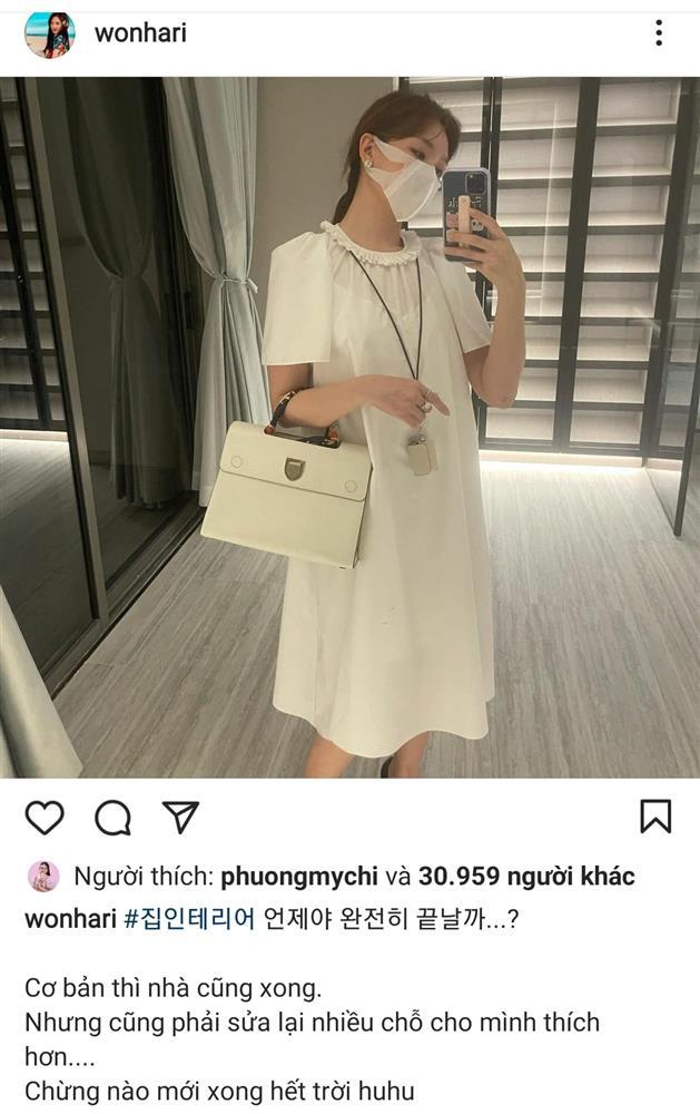 Hari Won mặc váy kiểu bà bầu gây xôn xao-1