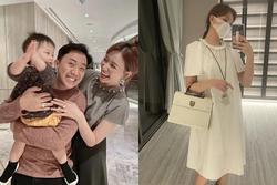 Hari Won mặc váy kiểu bà bầu gây xôn xao