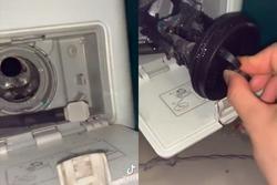 Dùng máy giặt cả chục năm nhưng nhiều người lần đầu được 'giải ngố' với ngăn chứa rác bí ẩn