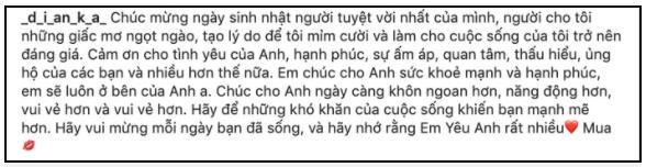Bạn gái Tây chúc sinh nhật Bùi Tiến Dũng bằng tiếng Việt, tuy hơi lỗi nhưng chân thành-2
