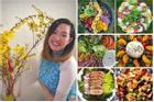 Mẹ Việt ở Thụy Sĩ chia sẻ những đĩa salad màu sắc đẹp như nhà hàng