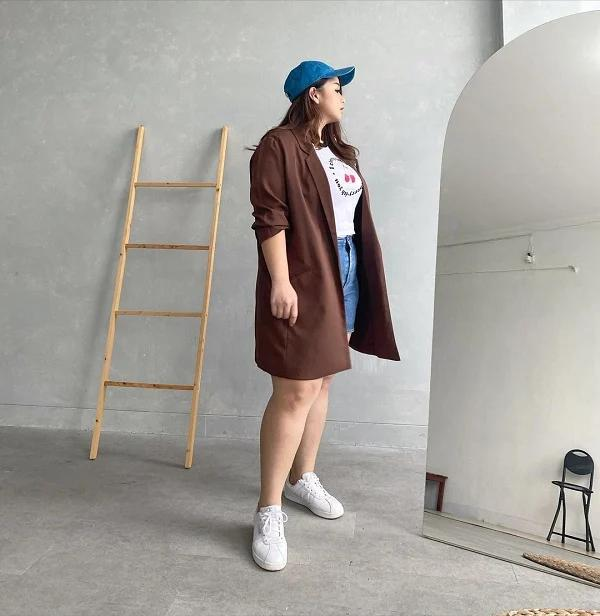 Loạt trang phục giúp chị em thân hình mũm mĩm, vòng eo mỡ thừa giấu dáng-5
