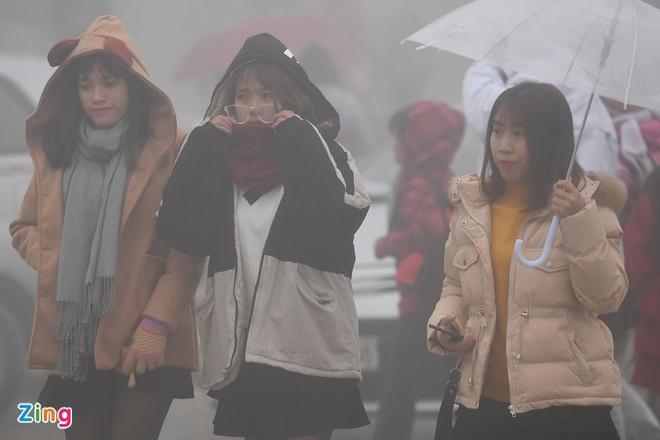 Hà Nội mưa lạnh dài ngày-1