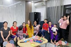 6 con thuê 5 giúp việc, Hằng 'Túi' khoe cuộc sống chuẩn đại gia dịp đầu năm