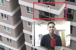 Người dân kể lại phút 'người hùng' trèo tường cứu bé gái rơi từ tầng 12