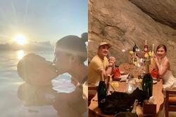 'Tuần trăng mật' lãng mạn của Thúy Diễm - Lương Thế Thành
