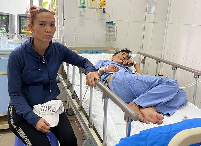 Nghệ sĩ Thương Tín sau 3 ngày đột quỵ-6
