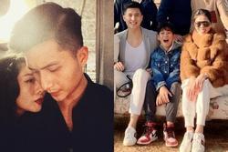 Lâm Bảo Châu khoe ảnh bên mẹ con Lệ Quyên như một gia đình