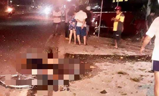 Xe khách đâm nhóm xe đạp, 3 người chết, 2 người thương nặng-3
