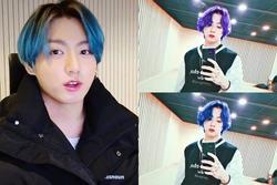 Fan BTS biến mình thành 'chúa hề' chỉ vì màu tóc tự nhuộm của Jungkook