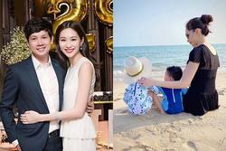 Chồng Đặng Thu Thảo bị 'bắt lỗi' khi đăng ảnh vợ con