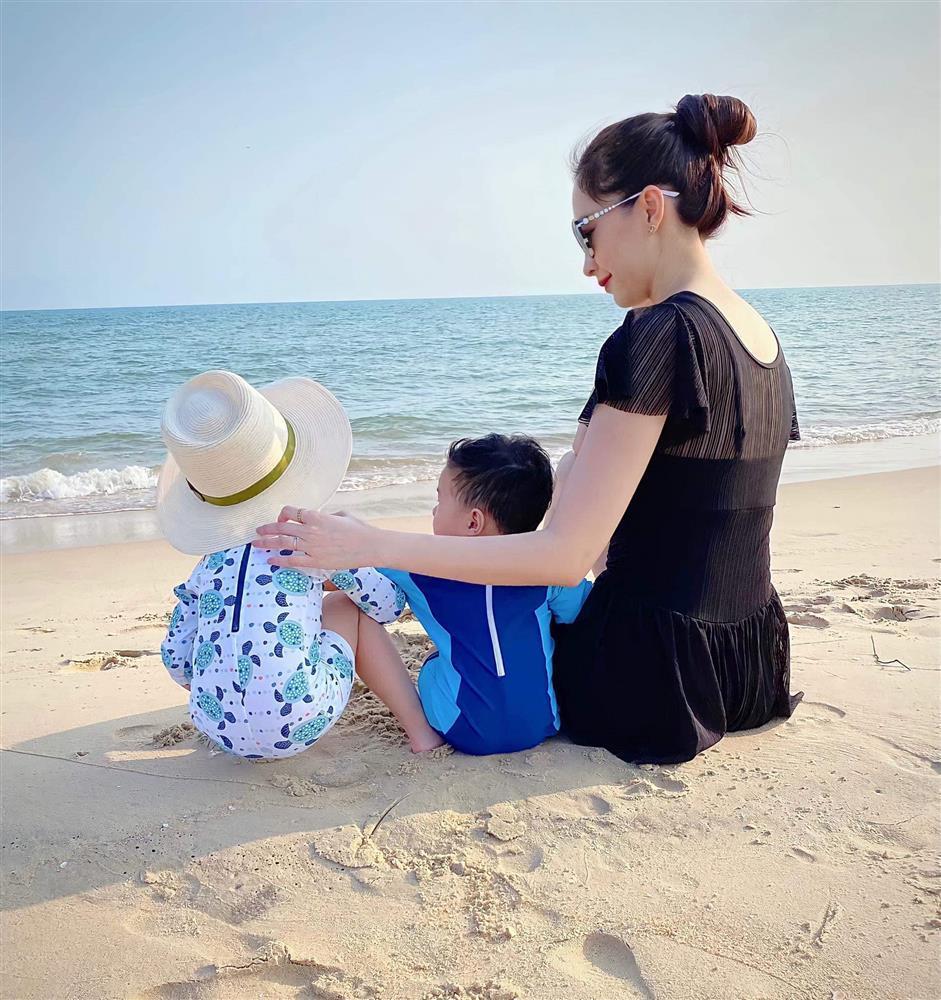 Chồng Đặng Thu Thảo bị bắt lỗi khi đăng ảnh vợ con-1