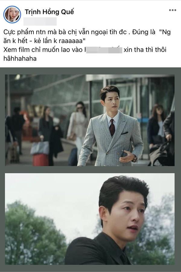 Hồng Quế gán tội Song Hye Kyo ngoại tình, giả tạo-2