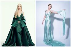 Những bộ trang phục đẹp nhất tại Quả cầu Vàng 2021