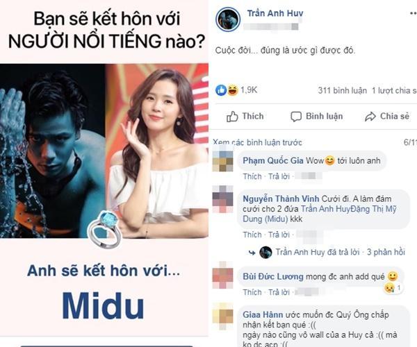 Nam MC điển trai công khai tỏ tình Midu: Thương em-7