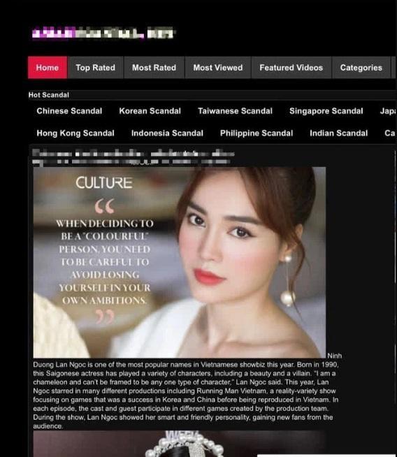 Ninh Dương Lan Ngọc: Cô gái trên web đen KHÔNG PHẢI TÔI-2