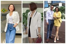 5 tips diện blazer sang-xịn-mịn của Hồng Diễm 'Hướng Dương Ngược Nắng'