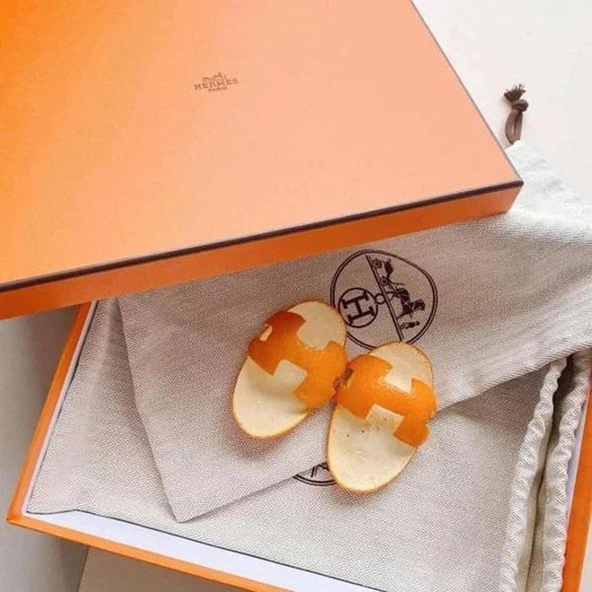 Đàm Thu Trang làm dép Hermès cho con bằng vỏ bưởi-9