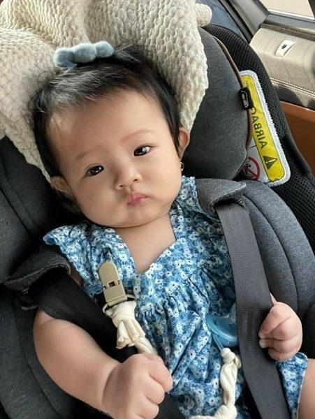 Đàm Thu Trang làm dép Hermès cho con bằng vỏ bưởi-3