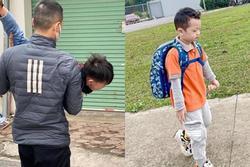 Loạt ảnh viral ngày toàn dân đưa trẻ đến trường: 'Thấy cũng tội mà thôi cũng kệ'