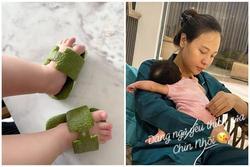 Đàm Thu Trang làm dép Hermès cho con bằng vỏ bưởi