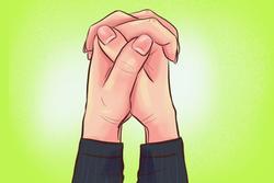Cách nắm 2 bàn tay bộc lộ tính cách cá nhân của bạn