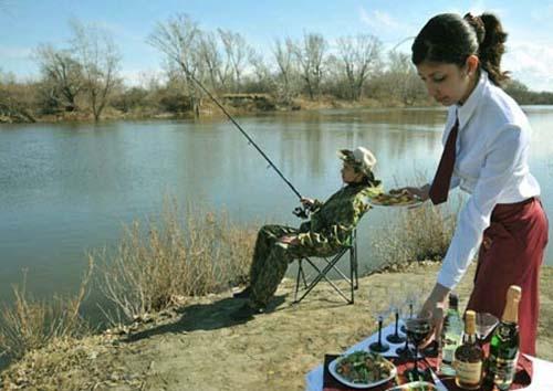 Những màn câu cá gây choáng, chỉ có cần thủ thực thụ mới nghĩ ra-2