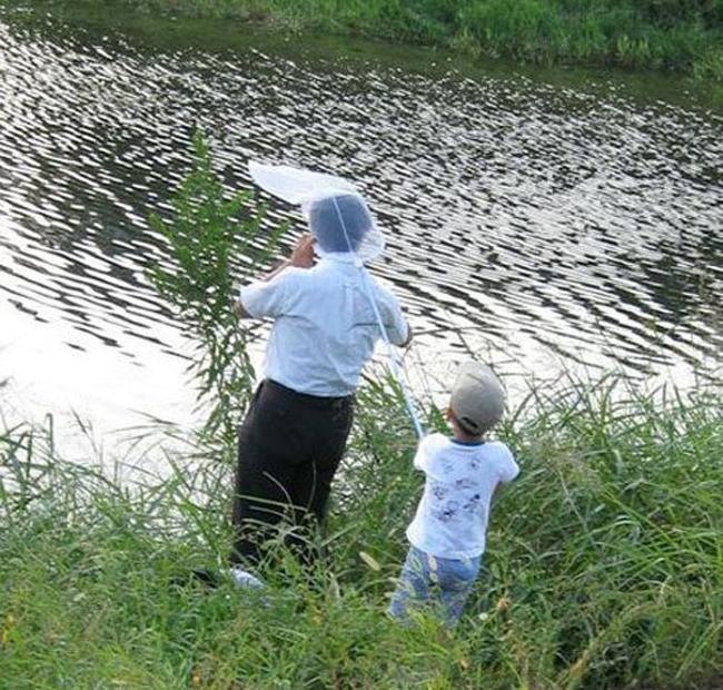 Những màn câu cá gây choáng, chỉ có cần thủ thực thụ mới nghĩ ra-5