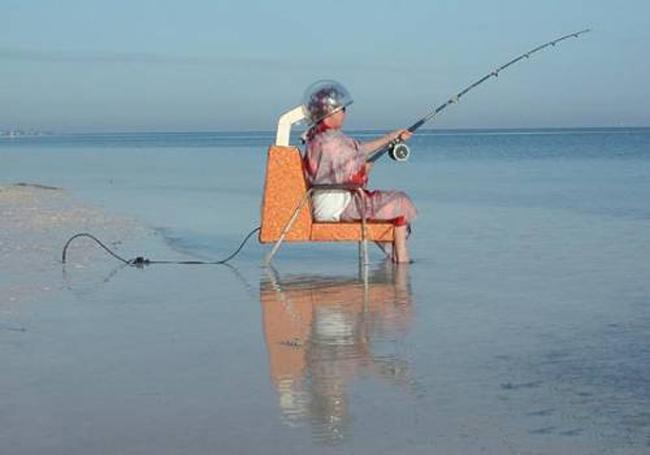 Những màn câu cá gây choáng, chỉ có cần thủ thực thụ mới nghĩ ra-9