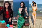'Hot girl bánh tráng trộn' Đà Lạt lộ ảnh hở bạo sau 8 năm nổi tiếng
