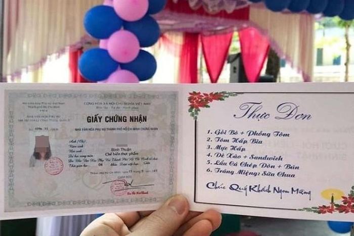 Thực đơn đám cưới đu trends được dân tình rầm rộ truyền tay-7