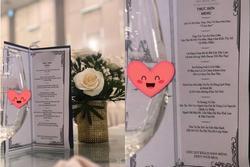Thực đơn đám cưới 'đu trends' được dân tình rầm rộ truyền tay