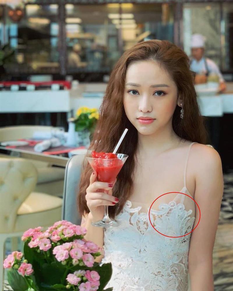 Hot girl Thúy Vi diện váy mỏng như tờ giấy mà không hề lộ liễu phô phang-3