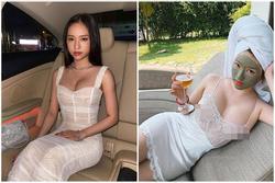 Hot girl Thúy Vi diện váy mỏng như tờ giấy mà không hề lộ liễu phô phang