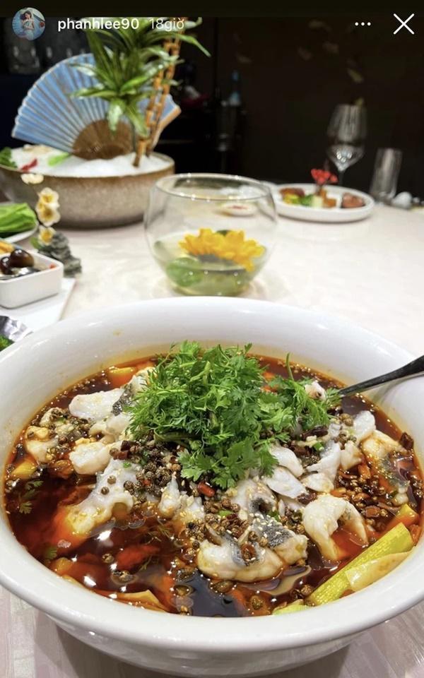 Từ ngày cưới tổng giám đốc cứ thấy Phanh Lee khoe những bữa ăn hào môn suốt!-3