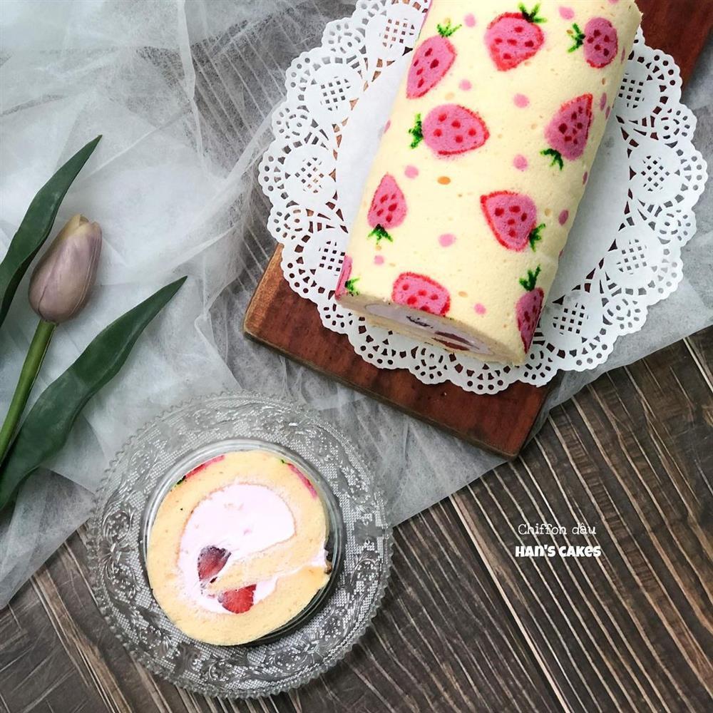 Hương sắc Đà Lạt trên những chiếc bánh cuộn kem của 8X khiến ai cũng chẳng nỡ ăn-9