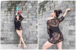 Hoàng Thùy Linh khoe hình áo tắm sexy nhưng bị nhắc nhở: 'Mặc quần vào'