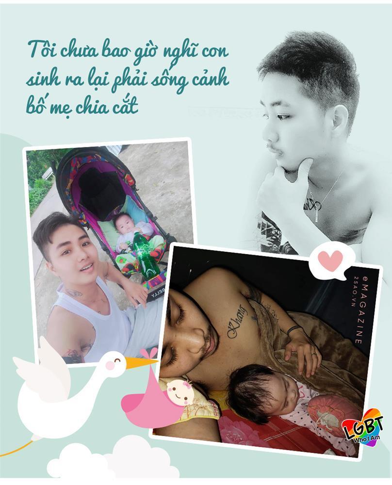 4 tháng gà trống nuôi con của người đàn ông Việt Nam đầu tiên mang thai-2