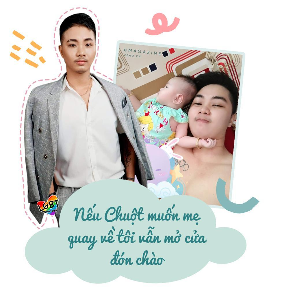 4 tháng gà trống nuôi con của người đàn ông Việt Nam đầu tiên mang thai-10