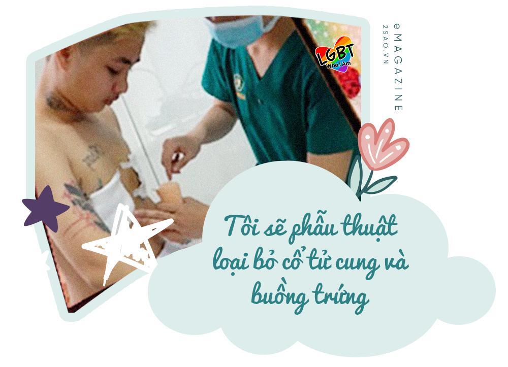 4 tháng gà trống nuôi con của người đàn ông Việt Nam đầu tiên mang thai-13