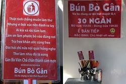 Những tấm biển quảng cáo khiến thực khách 'đau đầu', đọc xong khỏi muốn ăn